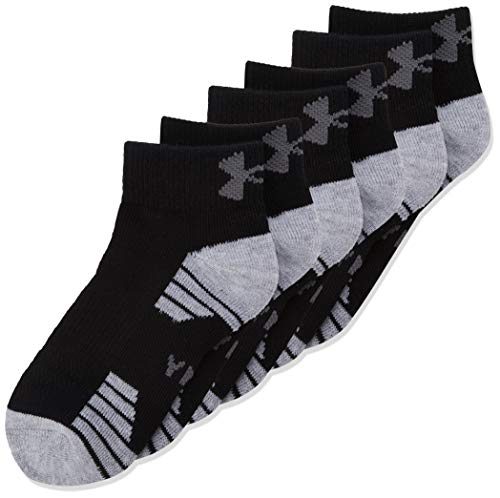 Under Armour UA Heatgear Low Cut Calcetines, Unisex niños,