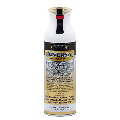 Spray Universal Mate Rust-Oleum 400ml - Blanco