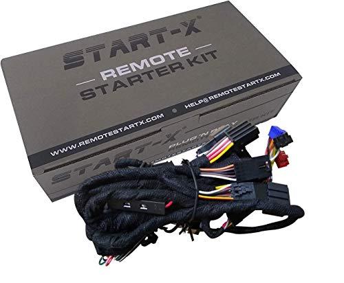 Start-X Remote Starter for Silverado 2007-2013 & Sierra 2007-2013    Plug N Pay    3 X Lock to Remote Start    NO UPDATER Required