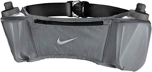 Nike Double Pocket Flask Belt 20OZ 2.O OSFM Cool Grey/Black/Silver
