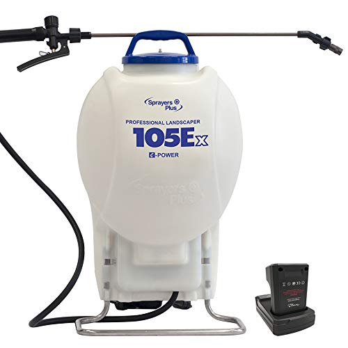 105Ex Effortless Backpack Sprayer - 20V Lithium Long Battery Life with High Grade...