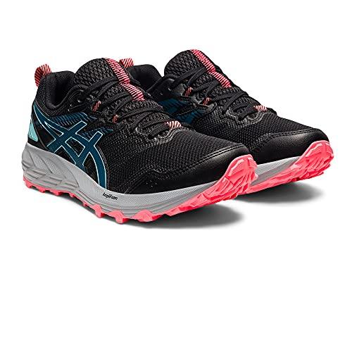 ASICS Gel-Sonoma 6, Zapatillas de Running Mujer, Black Deep Sea Teal, 39 EU