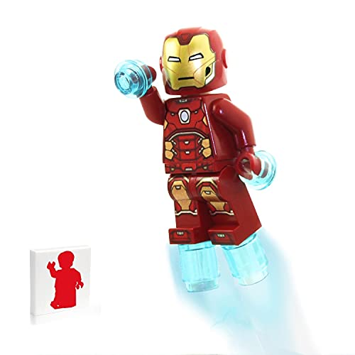 Lego Marvel Avengers Super Heroes Minifigure - Iron Man (with Power Blasts) Limited Edition Foil Pack