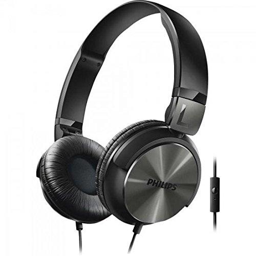 Philips SHL3165BK/00 On-Ear-Kopfhörer (Mikrofon, 32 mm Neodym-Treiber, DJ-Monitoring) schwarz