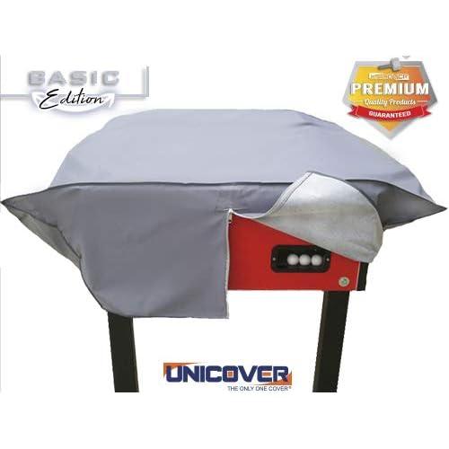 Unicover Copri Calciobalilla - Biliardino Colorful Rinforzato (Gray)