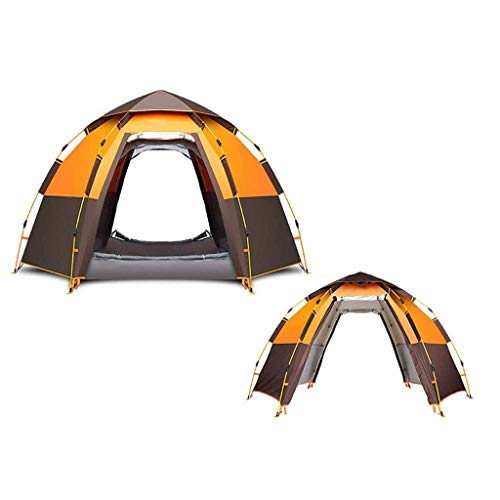HIGHKAS 5-8 Persom Outdoor Products Lightweight Double Layer Tent and Footprint - Perfect For Backpacking, Kayaking, Camping and Bikepacking