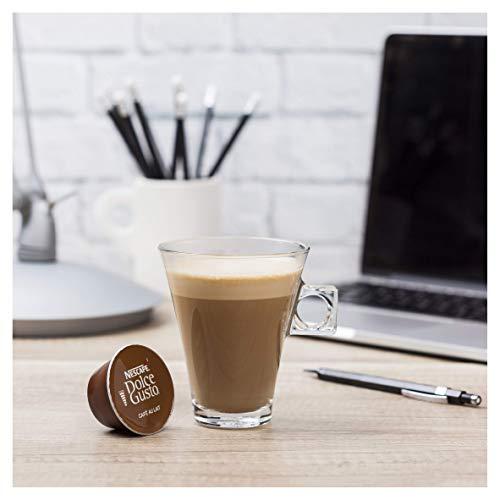 NESCAFÉ Dolce Gusto Café Au Lait Coffee Pods, 16 Capsules (48 Servings, Pack of 3, Total 48 Capsules)