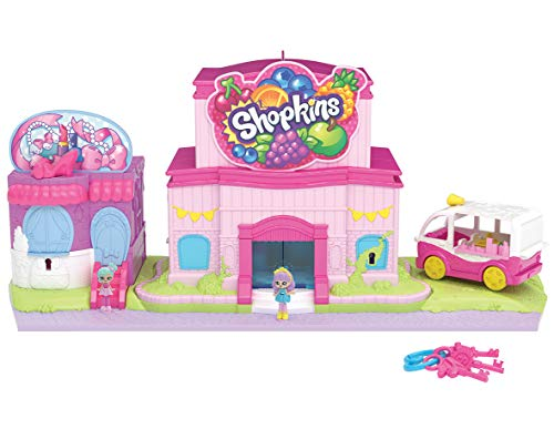 Shopkins HPL13000 Flair Lil' Secrets Keypers Multi Shop Spielset, Mehrfarbig