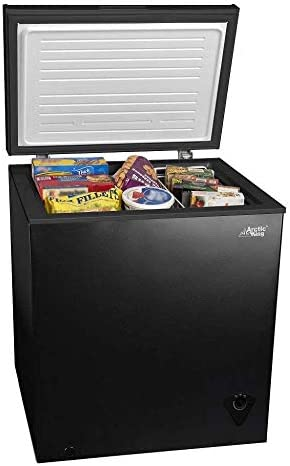 5 cu ft Chest Freezer for Your House Garage Basement Apartment Kitchen Cabin Lake House Timeshare product image