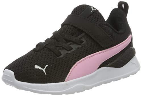 PUMA Unisex Kinder Anzarun Lite Ac Inf Sneaker, Schwarz-Hellrosa-Weiß, 26 EU