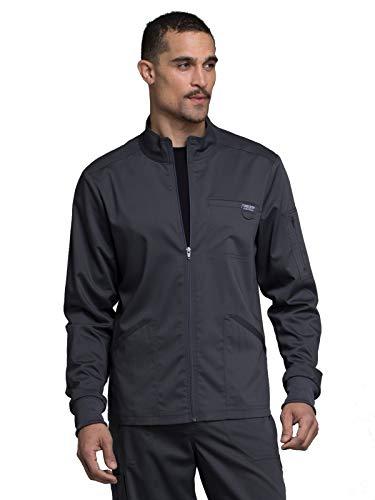 Men's Zip Scrub Jacket