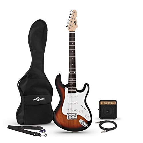 Guitarra Eléctrica 3/4 LA + Miniamplificador Sunburst