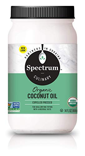 Spectrum Diversified Naturals Refined Coconut Oil, 14 Ounce