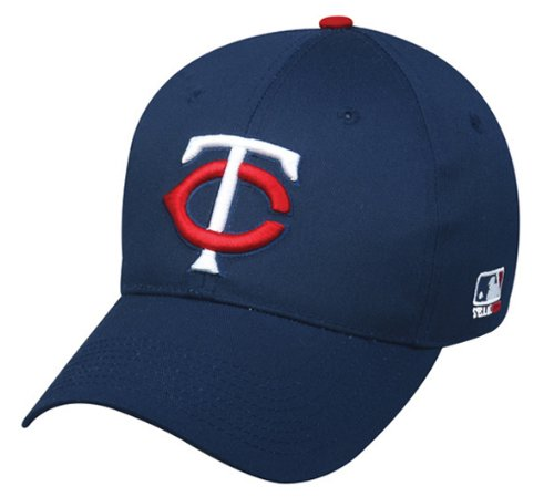 Minnesota Twins Youth (Ages Under 12) Adjustable Hat MLB Officially Licensed Major League Baseball Replica Ball Cap