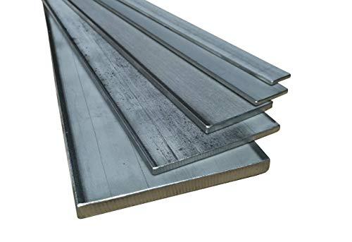 Flachstahl Edelstahl 1.4301 Länge 1000mm (100cm) von 20x3mm bis 100x10mm 30x3mm