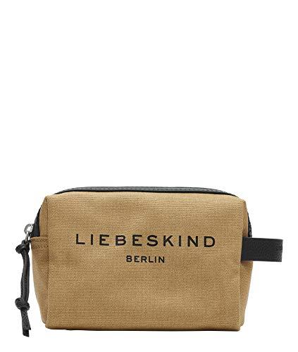 Liebeskind Berlin Gray, Cosmetic Pouch Donna, Safari-8475, Small (HxBxT 14.0 cm x 20.0 cm x 9.0cm)
