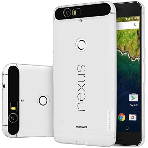 Nexus 6P Case, Nillkin Nature Series Clear Soft TPU Case Back Cover [Ultra Thin] [Slim Fit] for Huawei Nexus 6P - Clear