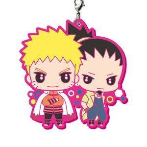 Boruto Naruto Next Generation It's Capsule Rubber Mascot! Naruto & Shikamaru