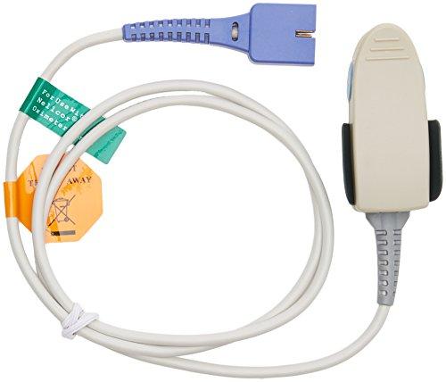 GiMa 35262Sensoren wiederverwendbar Nellcor oxitech SPO2-Finger, Erwachsene, Kabel 0.09m