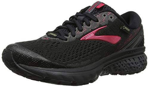 Brooks Women's Ghost 11 GTX Black/Pink/Ebony 8.5