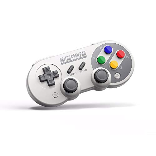 RunSnail SF30 Pro Mando Bluetooth Compatible con Switch PC, 8Bitdo Inalámbrico Gamepad Controller para PC, Windows, Android, Raspberry Pi, macOS, Steam