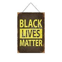 ブラックライブ(4)木製のリストプラーク木の看板ぶら下げ木製絵画パーソナライズされた広告ヴィンテージウォールサイン装飾ポスターアートサイン