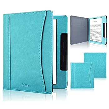 ACdream Case Fits All-New Kindle Oasis 2019 Folio Smart Cover Leather Case with Auto Wake Sleep Feature for Kindle Oasis  10th Generation 2019 Release & 9th Generation 2017 Release  Sky Blue