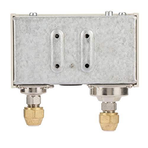 15A 250V Freón Doble líquido y otros no corrosivos R1 / 4'Controlador de presión de bomba inteligente Interruptor de control de presión Aire para equipos de refrigeración