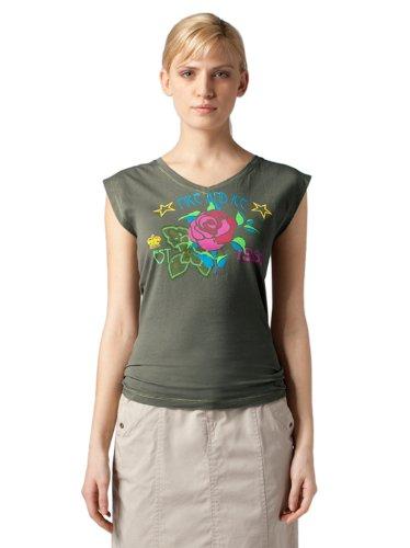 Bogner Fire + Ice Damen T-Shirt Nadina, oliva, XL, 8476-1719