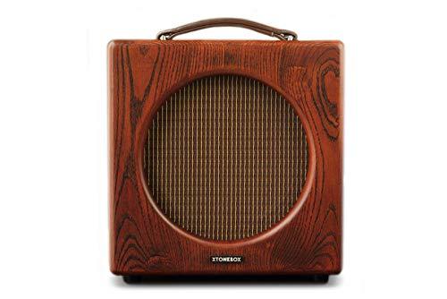 Xtonebox Lithium 1005C Amplificador de guitarra combo a válvulas de madera 5W para casa y estudio. Reverb a muelles y válvulas