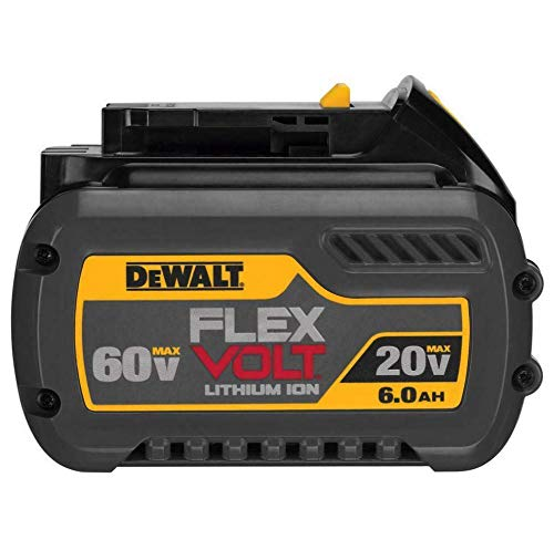 Dewalt DCB606 20/60V MAX FLEXVOLT 6.0 Ah Lithium Ion Battery 1 Pack