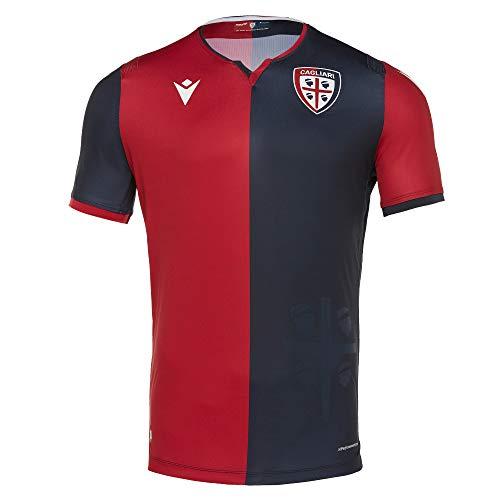Macron Cagliari Fútbol, Camiseta Gara Home 2019/20 Adulto XXL