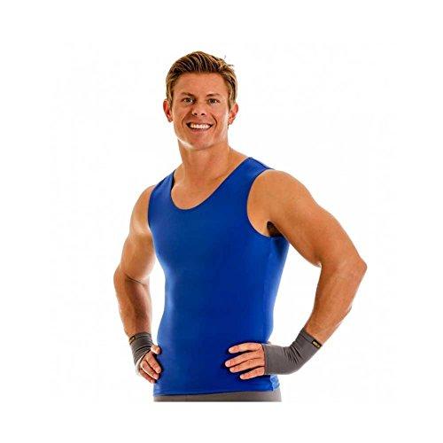 Insta Slim Men's Compression Muscle, Royal, 2XL