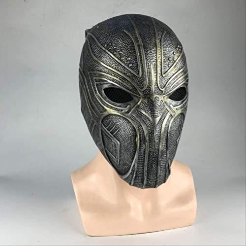 tytlmask zwart panter cosplay masker, latex helm partij maskers, voor volwassen mannen halloween rekwisieten superheld kostuums