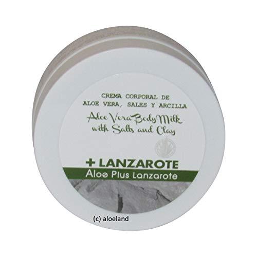 Aloe Plus Lanzarote. Clay, Salts and Aloe Vera Body Cream 250 ml by Aloe Plus Lanzarote