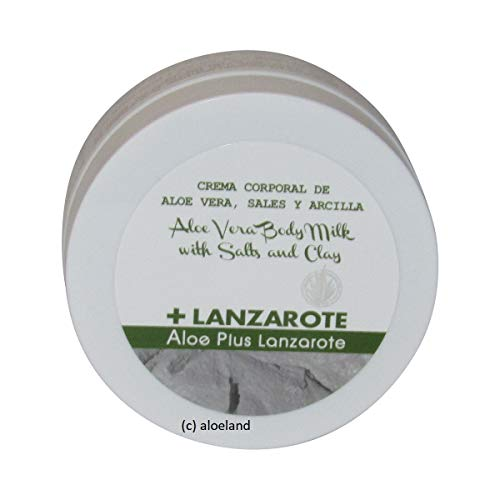 Aloe Plus Lanzarote. Clay, Salts and Aloe Vera Body Cream 250 ml by Aloe Plus Lanzarote