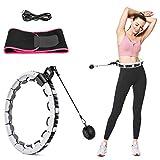 MOPOIN Hula Hoop Smart Hoola Hoop Aro de fitness con tempori