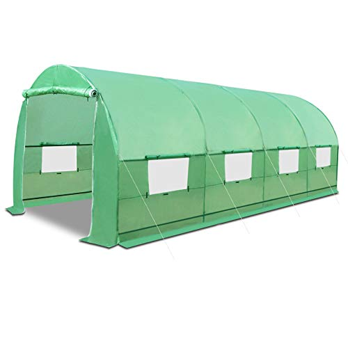 Strong Camel Portable Large Walk in Greenhouse Outdoor...