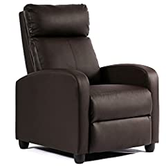 RECLINE TO UNWIND - The Wingback Recliner chair is designed for ultimate relaxation. Easy adjustment allows users to sit back and relax at any angle. The dual-function foot extension and reclining back help you unwind after even the most stressful of...