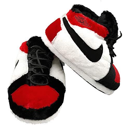 SoleSlip Jordan gleiche Sneaker-Hausschuhe | Herren und Damen | bequem und gemütlich | perfekt zum Lounging | Einheitsgröße