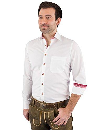 Arido Trachtenhemd Herren Langarm 2900 255 50 38