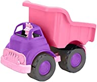 Green Toys Disney Baby Exclusive Minnie Mouse Dump Truck - Pretend Play, Motor Skills, Kids Toy Vehicle. No BPA, phthalates, PVC. Dishwasher Safe, Recycled Plastic, Made in USA.