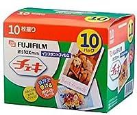富士フイルム チェキフイルム instax mini 白フレーム(10パック品) INS CN 10