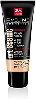 Eveline Art Scenic Covering Foundation Make Up 3 In 1, Spf10, Natural, 40ml