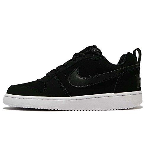 Nike Nike Damen Wmns Court Borough Low Basketballschuhe, Schwarz (Noir/blanc/noir), 40 EU