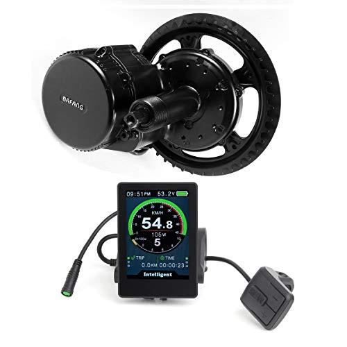 clasificación y comparación Bafang 48V 750W Kit de conversión de accionamiento medio Kit de motor medio de bicicleta eléctrica e-Bike … para casa