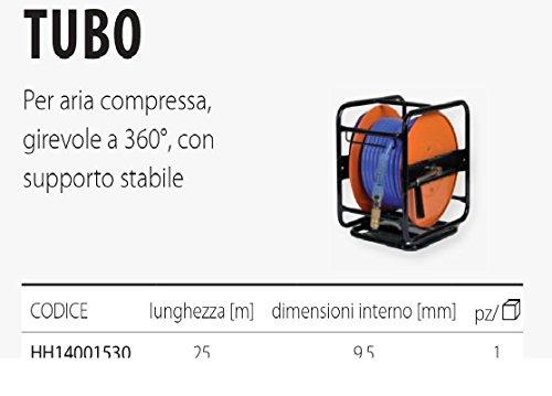 Schlauch für Luftschlauch, 360° drehbar, mit Halterung MT 25