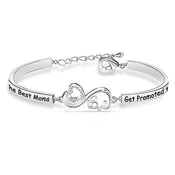 Mom Grammy Bracelet The Best Moms Get Promoted to Grammy New Grandma Mommy Gifts Grammy Jewelry mom grammy NBR
