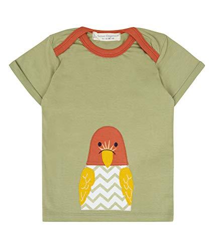 Olive Papagei T-shirt pour bébé Biologique Taille 74