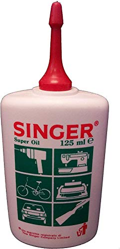 100% Genuine Singer Sewing Machine Oil Super FINE Quality 125ml Bottle